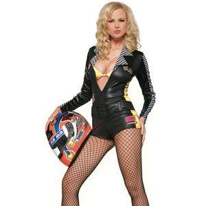 Leg Avenue Sexy Racer Racercar Driver Costume